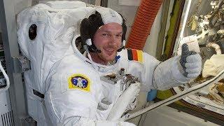 Немец Александр Герст хочет стать «хорошим командиром» экипажа МКС