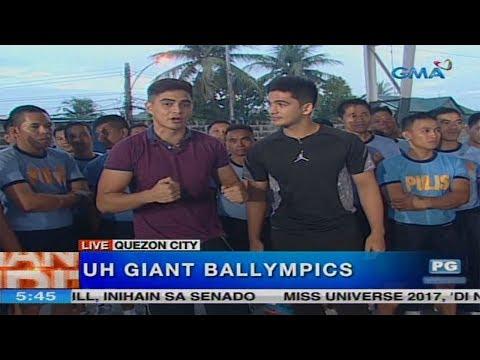 Unang Hirit: UH Giant Ballympics with Juancho Trivino and Phytos Ramirez