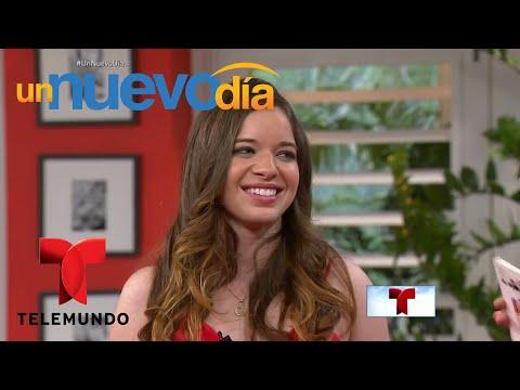 """Ashley Zamora se anima a jugar a """"Mayor o Menor""""  Un Nuevo Día  Telemundo"""