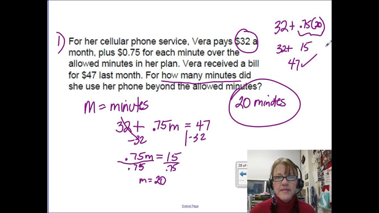 worksheet 2 Step Equations Word Problems 02 08c writing and solving 2 step equations from word problems youtube