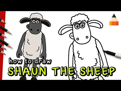 Download How To Draw And Color Shaun The Sheep Easy Kids Art Mp3