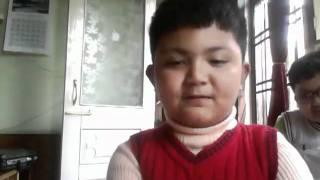 a gangtok boy yousef shahid bhutia  sings a song by MLTR.