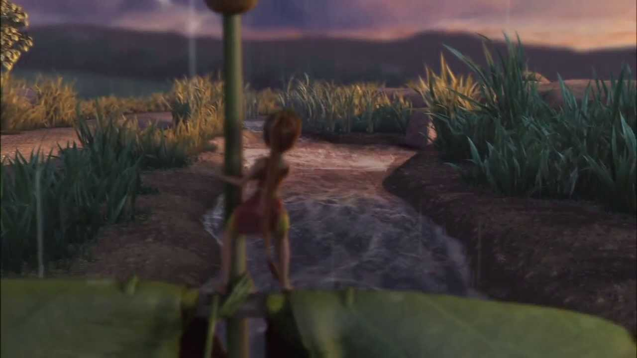 tinker bell and the great fairy rescue clip waterfall