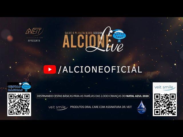 Alcione   Live Salve o Planeta Blue Sessions 18/07/20 - Alcione Oficial