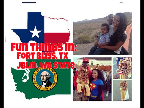 Best of: Fort Bliss, TX and JBLM, Wa
