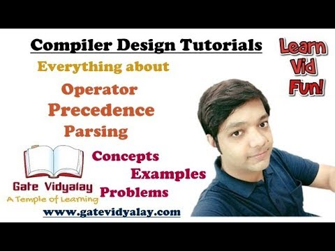 Operator Precedence Parsing in Compiler Design Explained Step by Step