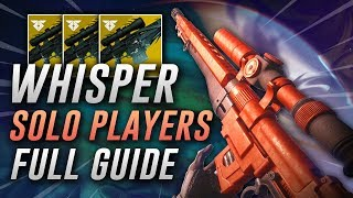 How to Get Whisper of the Worm in Forsaken (A Solo Player's Guide)