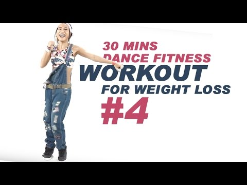30 Mins Dance Fitness Workout for weight loss #4| Michelle Vo | Fat Burning Full Body Workout