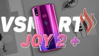 Trên tay Vsmart Joy2 Plus : Snapdragon 450, thiết kế đẹp, giá dễ chịu