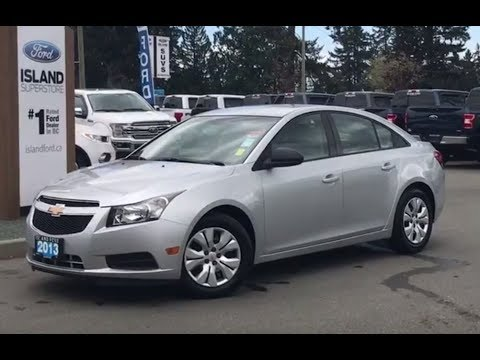 2013 Chevrolet Cruze LS W/ A/C, CD, OnStar Capable Review| Island Ford