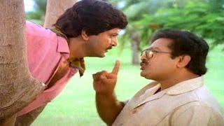 Alludugaru Movie || Mohan Babu Introduction Scene || Mohan Babu, Shobana, Ramya Krishnan