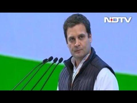AICC 84th Plenary Session: Rahul Gandhi Compares BJP, RSS To Kauravas Of Mahabharata