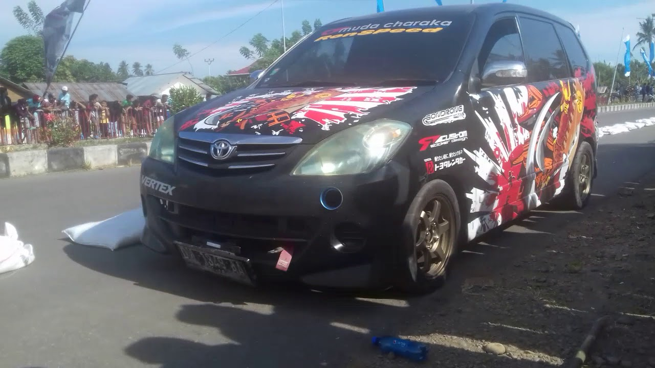 Drag Mobil Pertama diSulawesi Utara- Tutuyan (BOLTIM) 01/09/2018