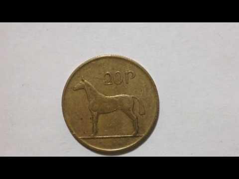 20 Pingin Ireland Coin 1988