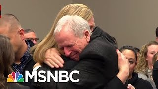 Watch Courtroom Erupt In Applause After Larry Nassar Sentencing | MSNBC