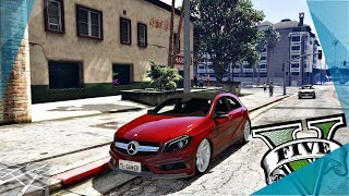 👉 GTA V - Mercedes-Benz A45 AMG 2017 + Download | Jhonatan Braga