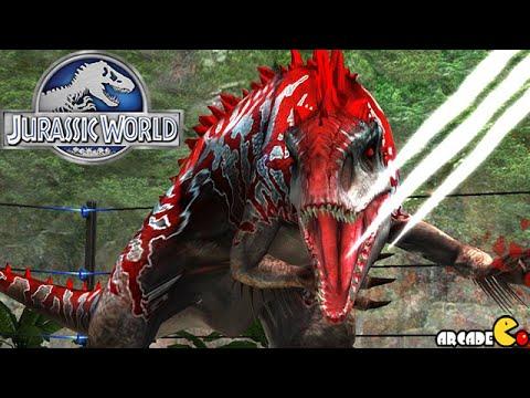 HYBIRD Indominus Rex Battle Buildup Legendary Pack Rewarded - Jurassic World The Game!