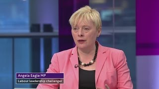 Angela Eagle interview: fight for Labour leadership