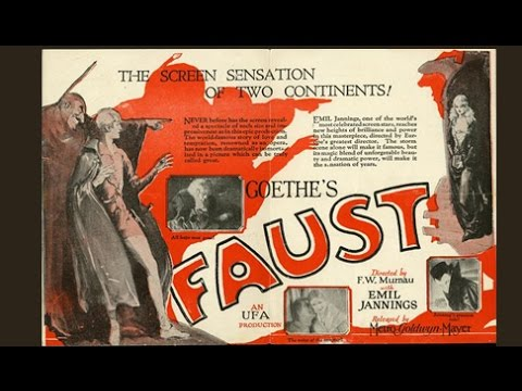 Faust 1926 Silent Film 720 High Definition and Free of Ads