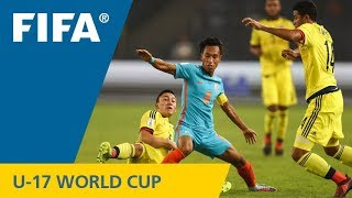 Match 14: India v Colombia – FIFA U-17 World Cup India 2017