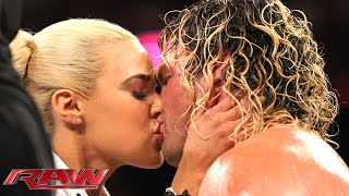Lana kisses Dolph Ziggler: Raw, May 18, 2015 thumbnail