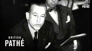 Johnston Hits At Us Cinema Tax (1950)