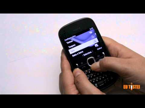 Feature phone Nokia Asha 200 - Resenha Brasil