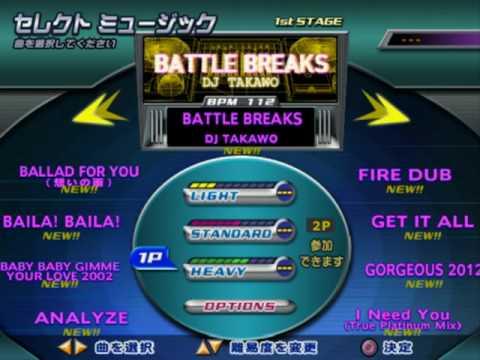 DDR FESTIVAL PS2 (JP) - FULL Song list Line Record