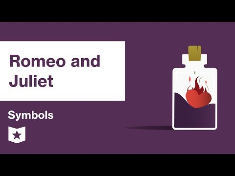 Romeo and Juliet by William Shakespeare   Symbols