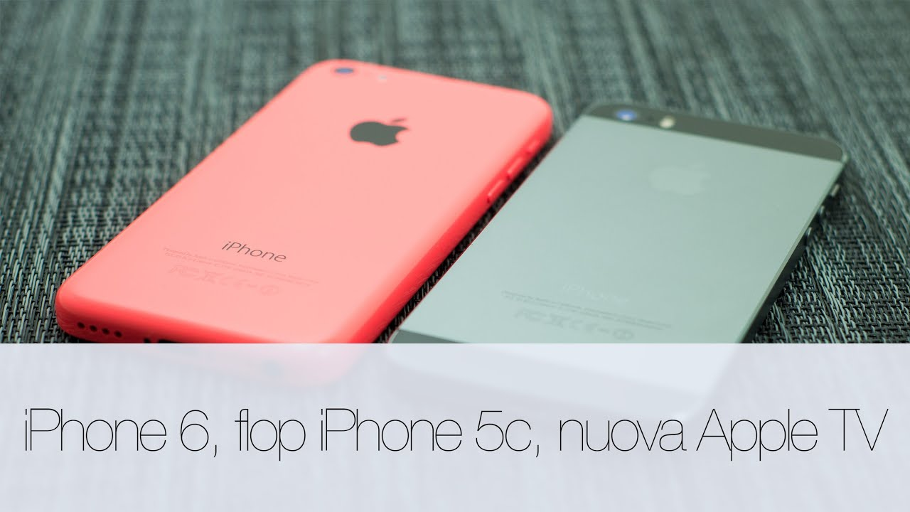iPhone 6, flop di iPhone 5c e Apple TV