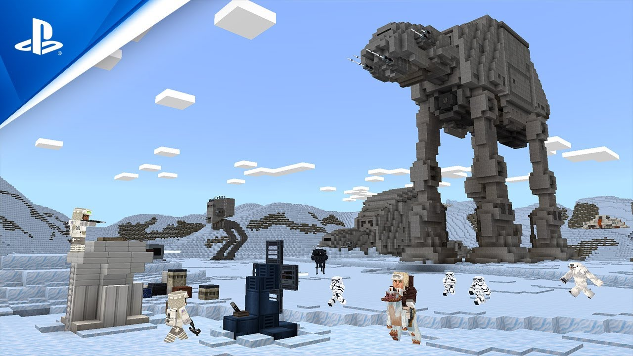 Minecraft - Explore the Star Wars Galaxy! | PS4