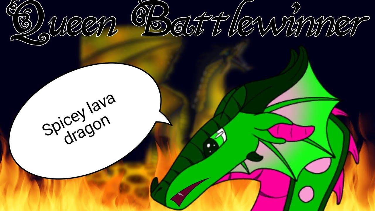 Queen Battlewinner   Wings of Fire   Cannon character