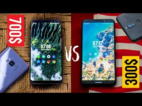 HUAWEI MATE 10 LITE Vs. S8 PLUS: THIS WILL SURPRISE YOU!