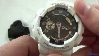 Налаштування на Casio - G-Shock GA-110RG-7A