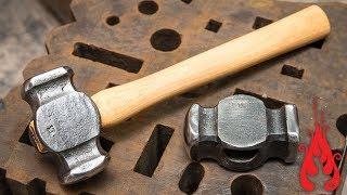 Blacksmithing - Forging a rounding hammer