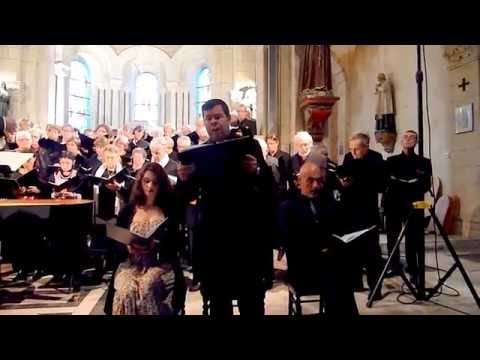 Robert Getchell solo tenor Domine Messe Ste Cécile Gounod