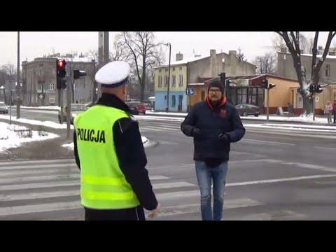 Prowokacja pabianickiej drogówki