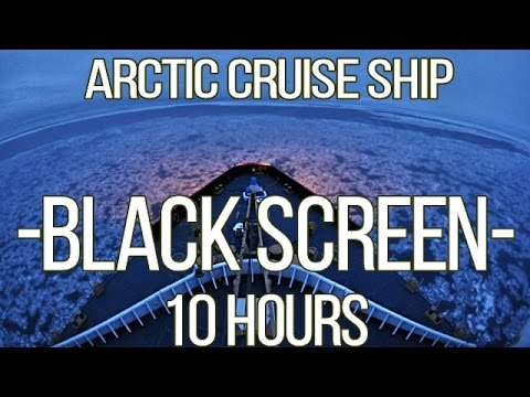Arctic Cruise Ship | Winter Sea Journey | South Georgia Sleep Sounds | 10 Hours