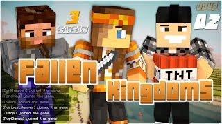 Minecraft - Fallen Kingdoms 3   Jour 2 (ft. Jutopi & Furious_Jumper)