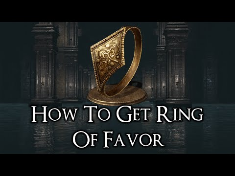 Dark Souls 3 How To Get Ring Of Favor