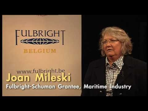 Fulbright-Schuman Grantee Joan Mileski on Doing  Maritime Industry Research in Sweden