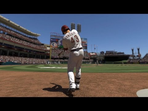 MLB The Show 17 - Chicago Cubs vs Cincinnati Reds | Gameplay (PS4 Pro HD) [1080p60FPS]