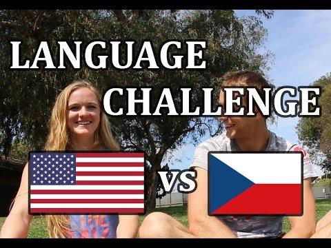AMERIČANKA MLUVÍ ČESKY! / LANGUAGE CHALLENGE AMERICAN GIRL SPEAKS CZECH