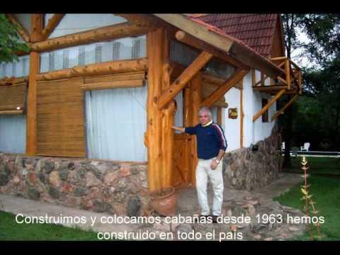 Construyendo caba as youtube - Como hacer una cabana de madera ...