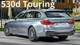 2017 BMW 530d Touring - Dynamic Excellence and Intelligent Functionality