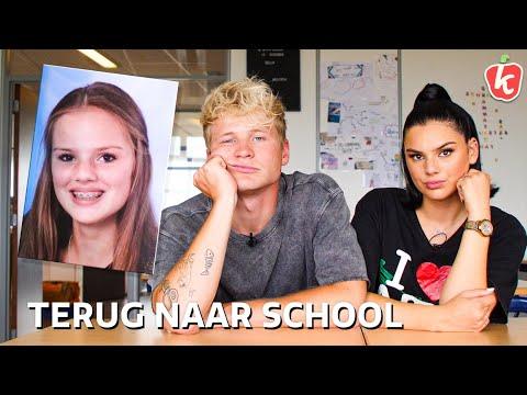 1 DAG TERUG NAAR SCHOOL met FAMKE LOUISE | Kalvijn