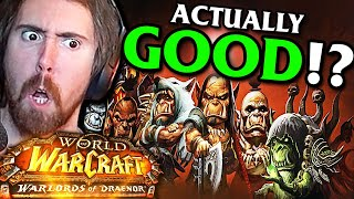 "Asmongold on ""Was Warlords of Draenor Really That Bad?"" 