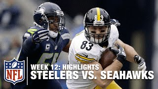 Steelers vs. Seahawks | Week 12 Highlights | NFL
