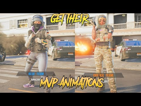 HOW TO GET THE MVP ANIMATIONS FOR IQ AND VALKYRIE ? - Rainbow six siege tutorial