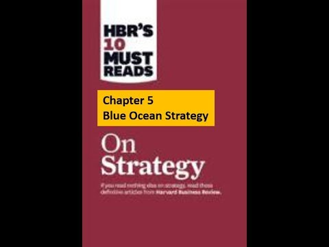 video for HBR chapter 5 Blue Ocean Strategy